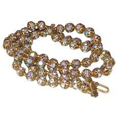 Vintage Signed Josef Morton Glasser Necklace