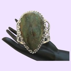 Clearance - Vintage Native American Turquoise/Silver Bracelet