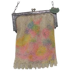Art Deco  Whiting and Davis Dresden Mesh Bag