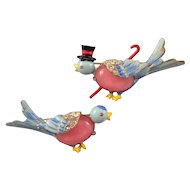 Coro Mr. and Mrs. Bird Pins - Book and Design Patent References
