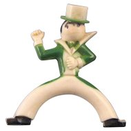 Plastic Irish Dancer Pin - Formal Duds and Top Hat