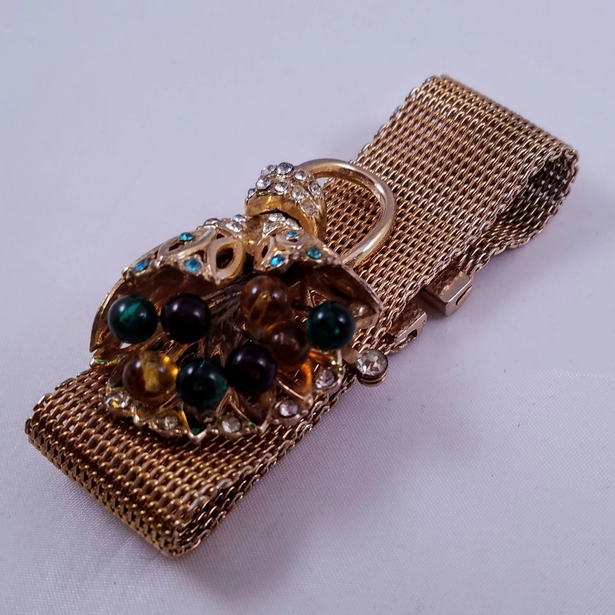 diamond bracelet gold retro rive jewelry yellow french product gauche