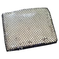 Vintage Whiting and Davis Silvertone Mesh Bifold Wallet
