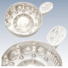 French Sterling Silver Wine Taster