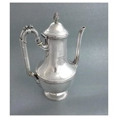 Coignet: French Sterling Silver Coffee Pot