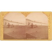 Stereoview of Clinton Prison, NY