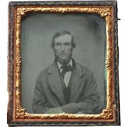 Sixth Plate Ambrotype of Man