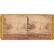 Civil War Stereoview Capitol Building at Richmond, VA