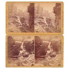 Lot 3 1880s Stereoviews of Colorado Scenery