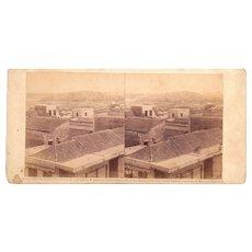 1860 Stereoview of Cuba #88 Castillo Atares