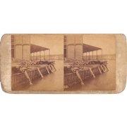 1860 Stereoview of Cuba Havana Sugar Warehouse #84