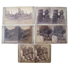 Lot 5 1870s Colorado Stereoviews by Weitfle #2