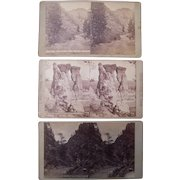 Lot 3 1870s Colorado Stereoviews by Weitfle #3