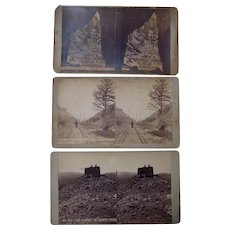 Lot 3 1870s Stereoviews of Colorado by Weifle #4