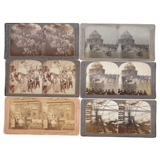 Lot 6 1904 St Louis, MO (Louisiana Purchase) Exposition Stereoviews