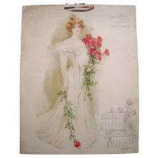 Complete 1901 Maud Stumm Advertising Calendar