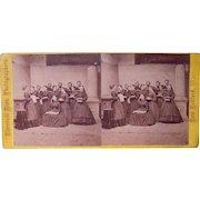 1860s Stereoview of Fairhaven, MA Choir