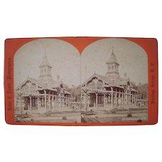 Lot of 6  1870s/1880s Saratoga Springs, NY Stereoviews