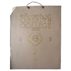 1910 Calendar from Oberlin College, Ohio