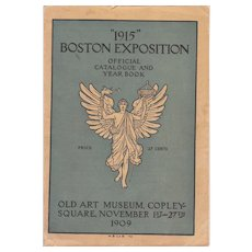 "Catalog ""1915"" Boston Exposition (held in 1909)"