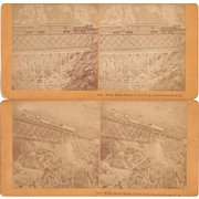 Lot 5  Stereoviews of White Mountains NH (incl Railroads)