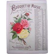 1884 Sheet Music Click Click Waltz