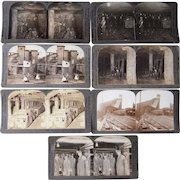 Lot of 7 Pennsylvania Coal Mining (Scranton, PA) Stereoviews