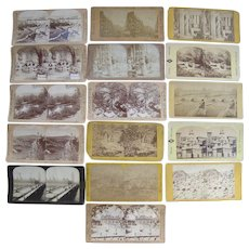 Lot of 40 Foreign Stereoviews
