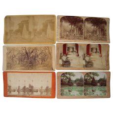 Lot 6 Stereoviews of Southern US States