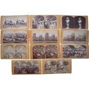 Lot 11 1876 Centennial Exposition Stereoviews