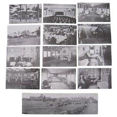 Lot 13 Postcards Masonic Home, Charlton, MA