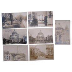 Lot 7 MA Real Photo Postcards (Boston and Northampton)