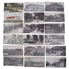 Lot 18 Hershey Chocolate Co. Postcards Hershey, PA