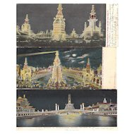 Lot 15 Night Time Coney Island Postcards