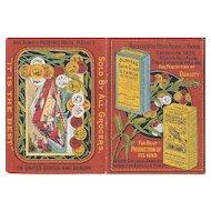 1880 Advertising Calendar for Duryeas' Starch