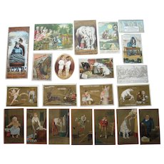 Lot 20 Advertising Trade Cards for Soap