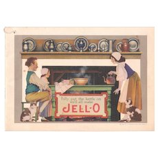 1924 Jello Advertising Cookbook w/ Maxfield Parrish Illustrations