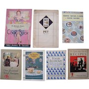 Lot 7 Early 20th Century Cookbooks/Recipe Books #1