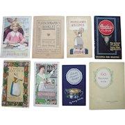 Lot 8 Early 20th Century Cookbooks/Recipe Books #2