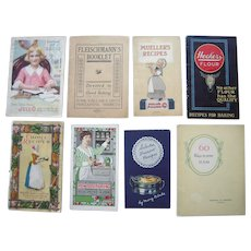 Lot 8 Early 20th Century Cookbooks/Recipe Books #2