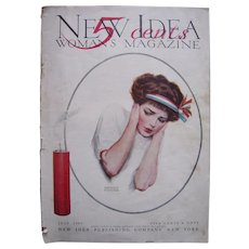 July 1909 New Idea Woman's Magazine w/Edward Poucher Illustrated Cover