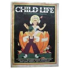 October 1932 Child Life Magazine (Halloween Issue)