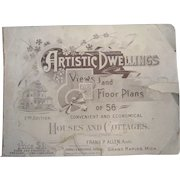 Architectural Dwellings Views and Floor Plans by Frank P. Allen 1892