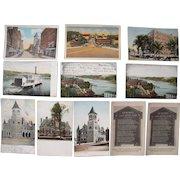 Lot 85 c1910 Postcards of Augusta, ME