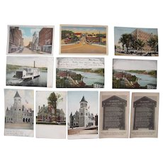 Lot 85 c1910 Postcards of Augusta, ME