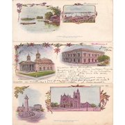 Lot 3 Pioneer Era (1897) Postcards of Baltimore, Maryland