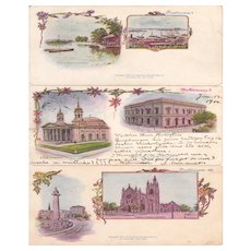 Lot 3 Pioneer Era (1897) Postcards of Baltimore, Maryland