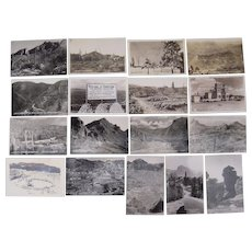Lot 17 Arizona Real Photo Postcards