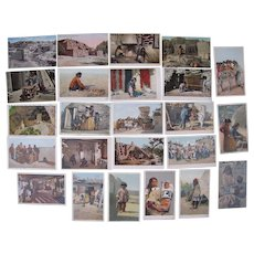 Lot 24 Postcards of c1900s/1910s Arizona Indians