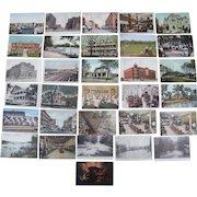 Lot 30 Postcards of Sioux City, Iowa c1900s/1910s